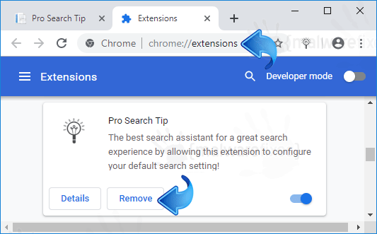 Prosearchtip Chr