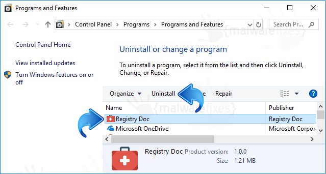 Add-Remove Registry Doc