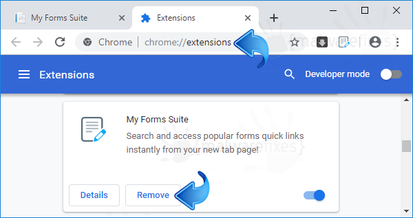 Search.hmyformssuite.com Chrome Extension