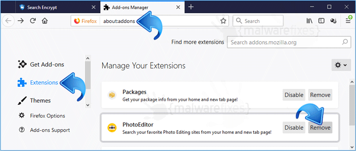 Search.hyourphotoeditor.net Firefox Extension