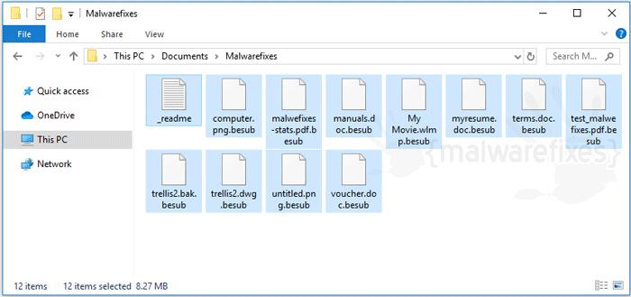 Besub Ransomware