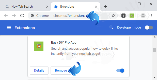 Easy DIY Pro App Chrome Extension