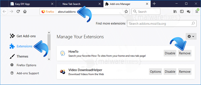Easy DIY Pro App Firefox Extension
