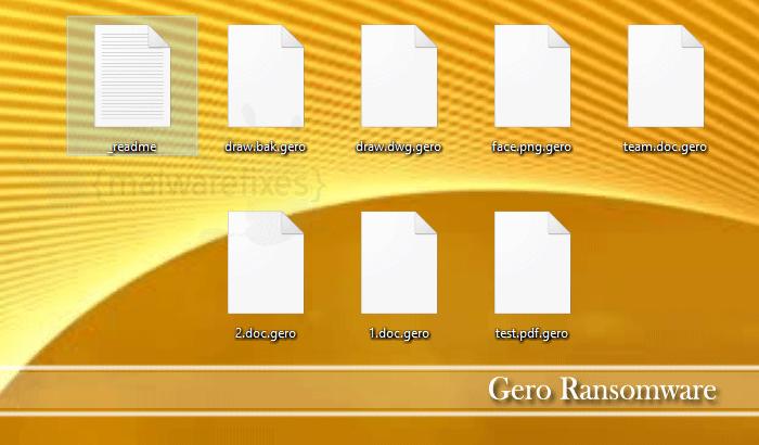 Gero Ransomware