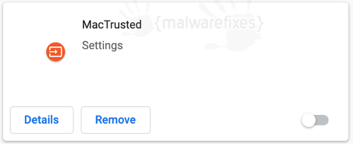 Mactrusted