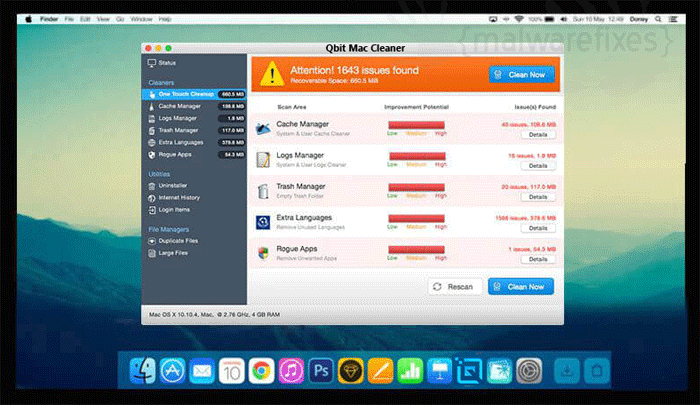 Qbit Mac Cleaner