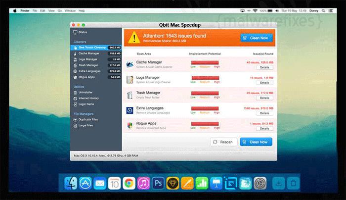Qbit Mac Speedup