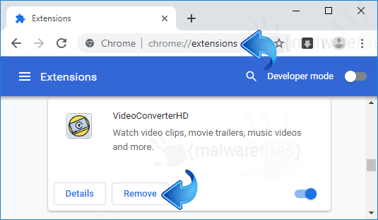 VideoConverterHD Chrome Extension