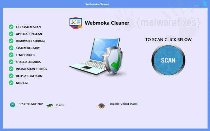 Image of Webmoka Cleaner scanner
