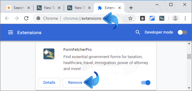 FormFetcherPro Chrome Extension