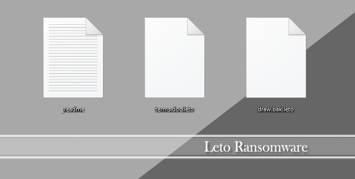 Image of Leto infected files