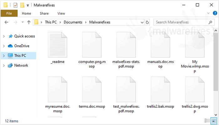 Msop Ransomware