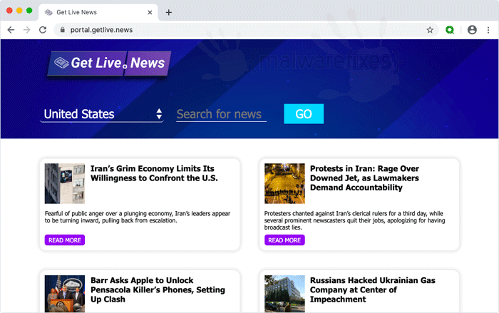 Get Live News PUP for Mac and PC