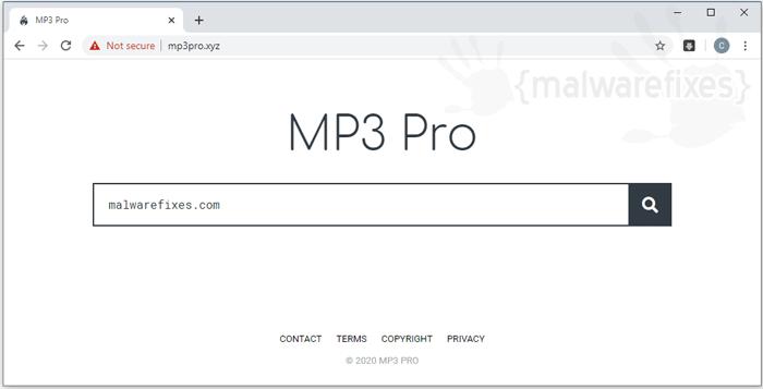 Mp3pro.xyz Hijacker