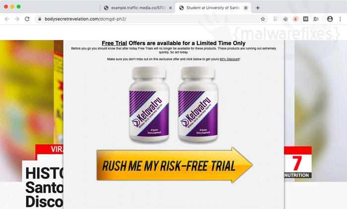 Bodysecretrevelation.com Ads