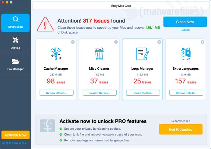 Screenshot image of Easy Mac Care