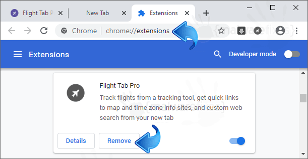Flight Tab Pro Chrome Extension