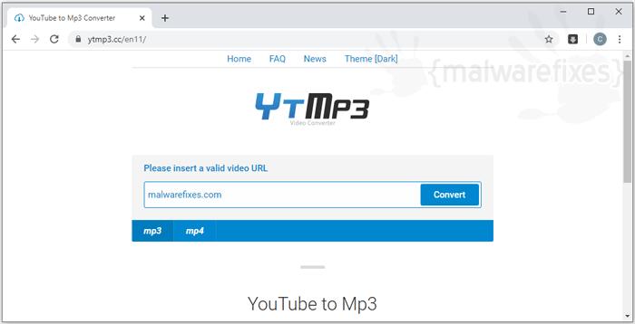 Ytmp3 Homepage