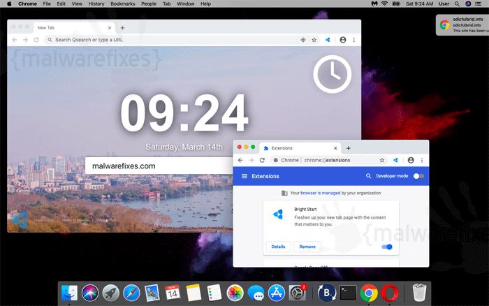 Screenshot image of Bright Start App