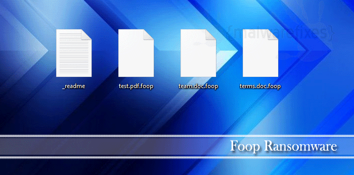 Screenshot image of Foop infected files