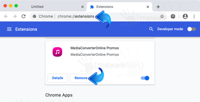 MediaConverterOnline Promos Chrome Extension