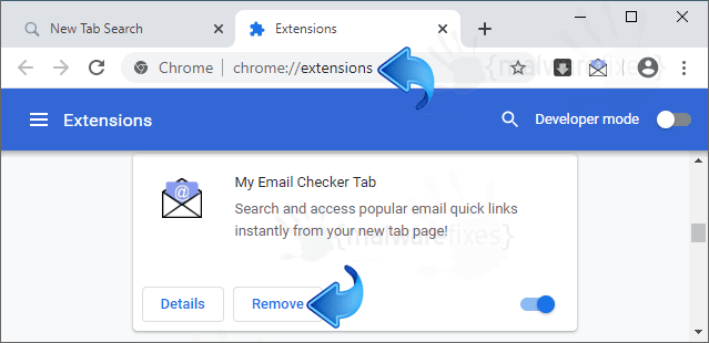 My Email Checker Tab