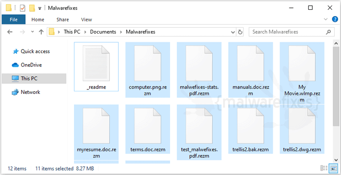 Image of Rezm files
