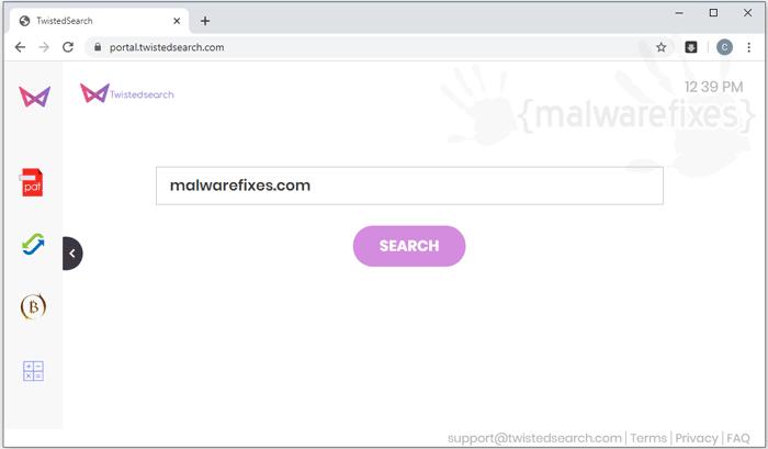 Portal.twistedsearch.com