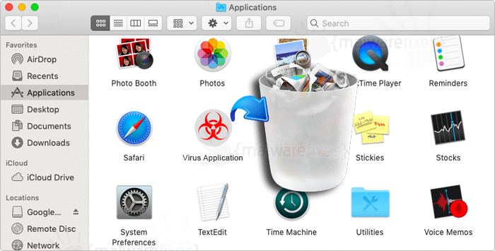 Image of Virus Application