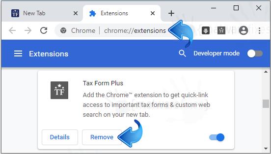 Tax Form Plus Chrome Extension