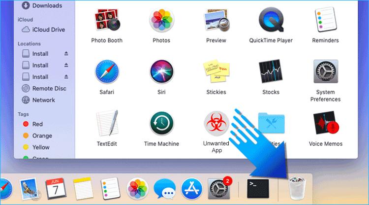 Delete Unwnated App