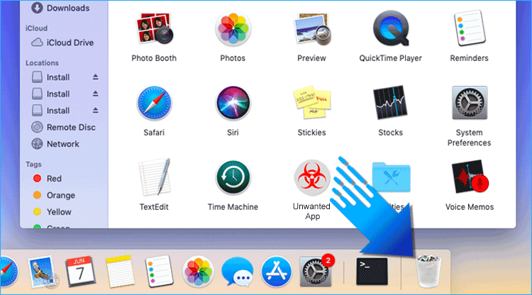 Delete Unwanted App