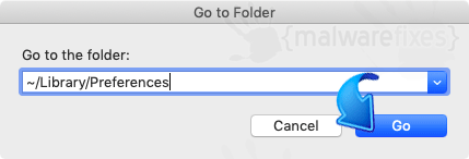 Go to Preferences Folder