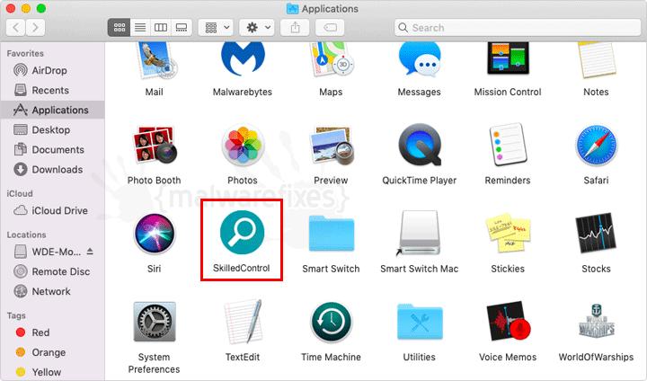Screenshot Image of SkilledControl