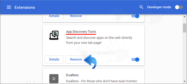 App Discovery Tools Chrome Extension