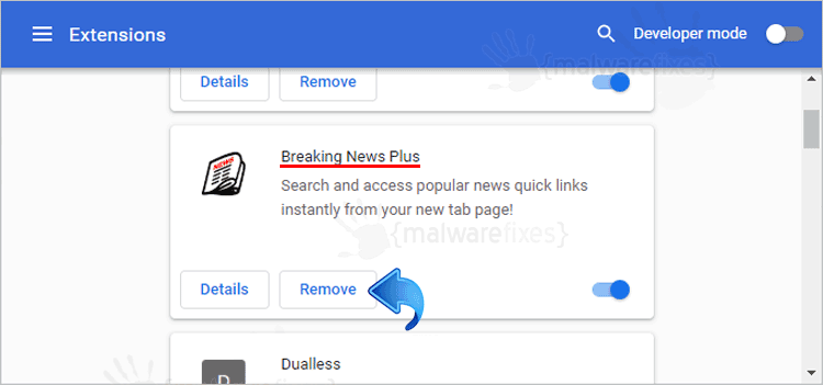 Breaking News Plus Chrome Extension