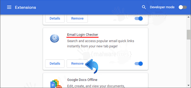 Email Login Checker Chrome Extension