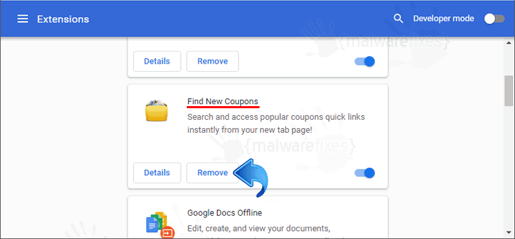 Find New Coupons Chrome Extension