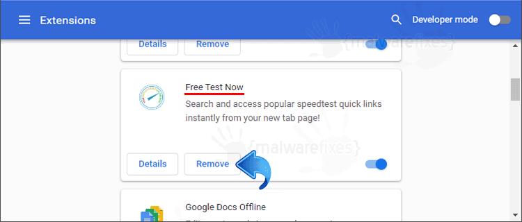 Free Test Now Chrome Extension
