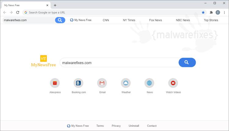 My News Free Chrome Extension