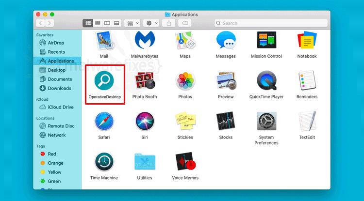 OperativeDesktop App