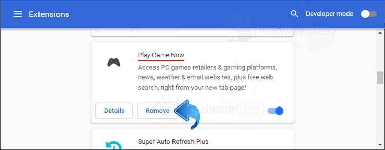 Play Game Now Chrome Extension