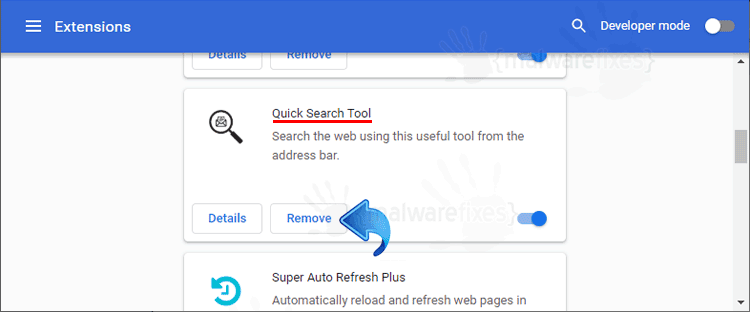Quick Search Tool Chrome Extension