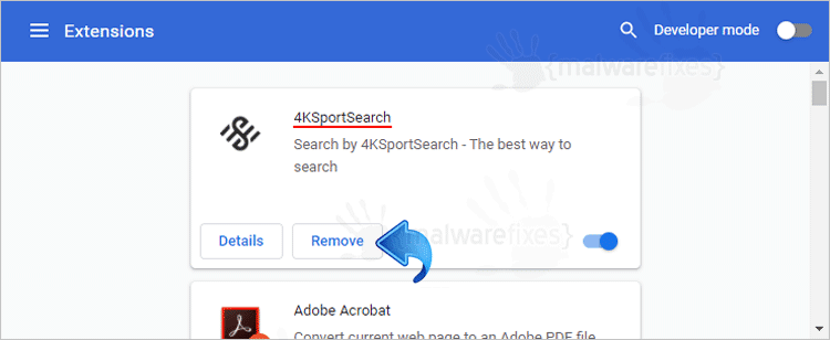 4kSportSearch Chrome Extension