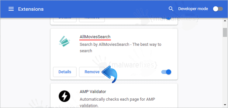 AllMoviesSearch Chrome Extension