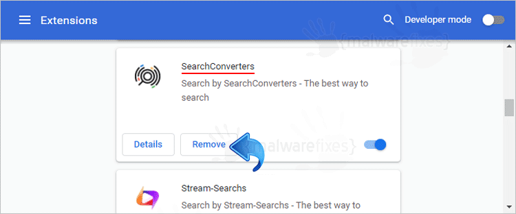 SearchConverters Chrome Extension