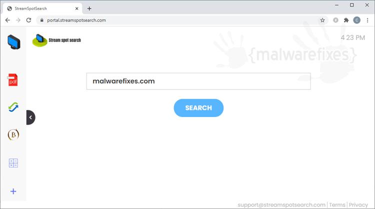 StreamSpotSearch
