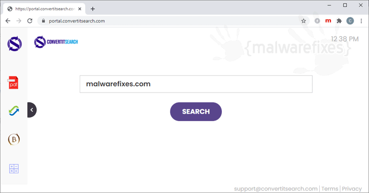 ConvertItSearch Adware