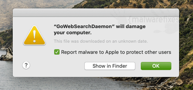 GoWebSearchDaemon