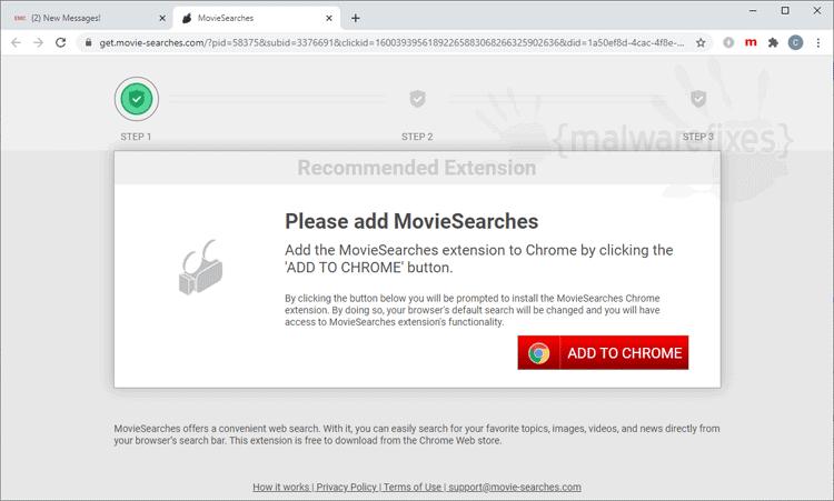 Movie-searches.com Website